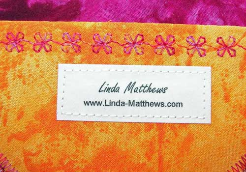 How to make your own fabric labels