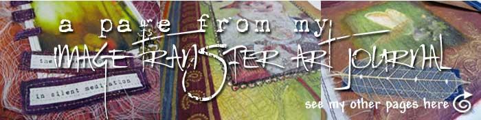 Image Transfer Art Journal