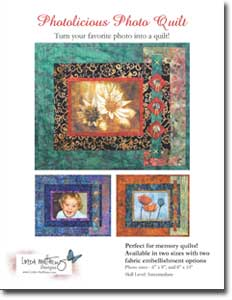 Photolicious Photo Quilt Pattern