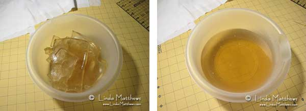 How to make a Gelatine Plate