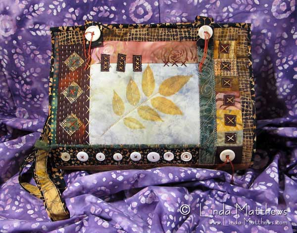 Fabric Collage Handbag