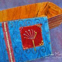 Embellished fabric box finally finished