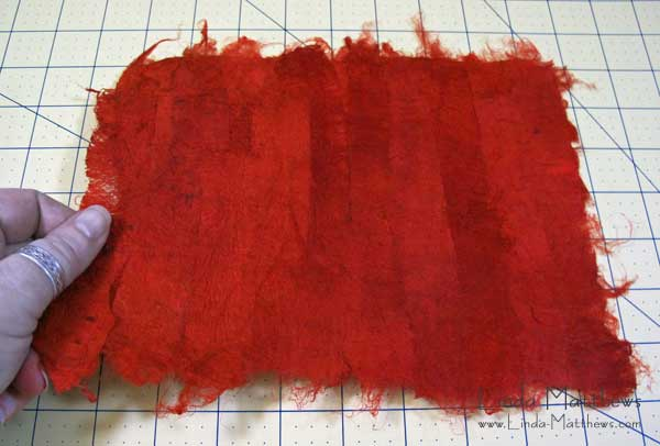 Tutorial: How to use silk carrier rods to make silk paper