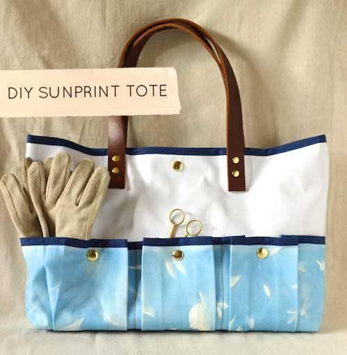10 Free Tote Bag Patterns | Linda Matthews: Textile Art & Design