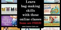Online Sewing Classes for Making Bags