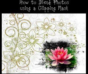 Photoshop Elements: Blending Multiple Photos using Clipping Masks