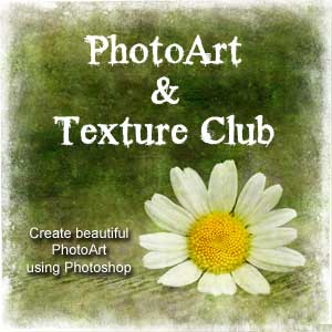 PhotoArt & Texture Club: Create Beautiful PhotoArt using Photoshop