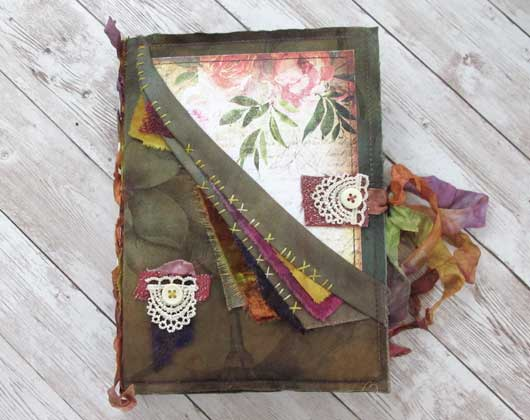 The Summer Garden Stitched Printable Journal Online Class