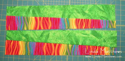 Curved Checkerboard Sewing Tutorial