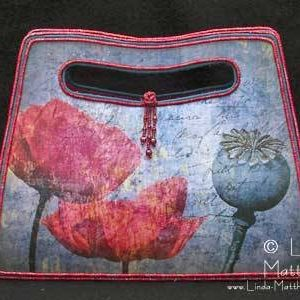 """Poppy"" Art Bag"
