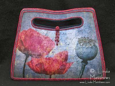 Poppy Art Bag