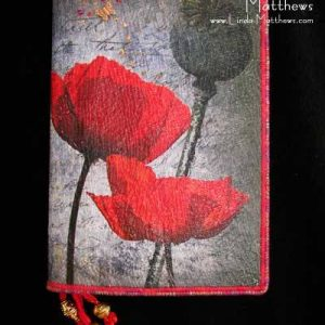 Journal Cover – Poppy