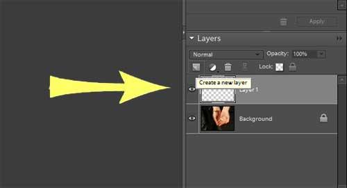 Photoshop Elements Colored Vignette