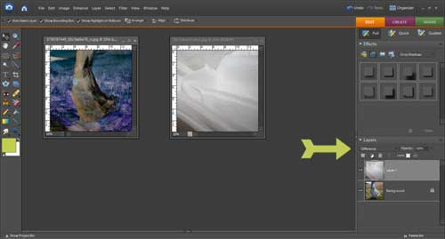 How to use textures in photoshop elements