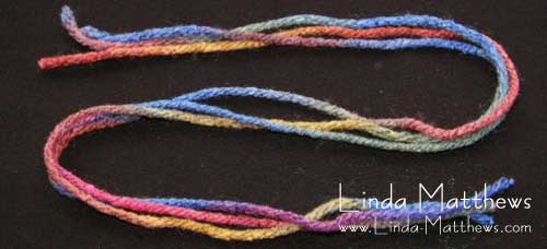 Tutorial: Machine Wrapped Cording