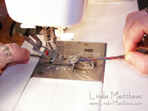 Tutorial: Machine Wrapped Cording