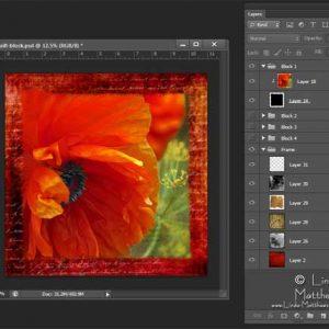 Designing quilt blocks with photoshop