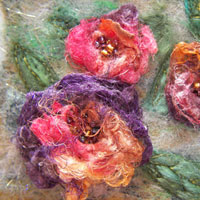 Get hooked on machine needle felting