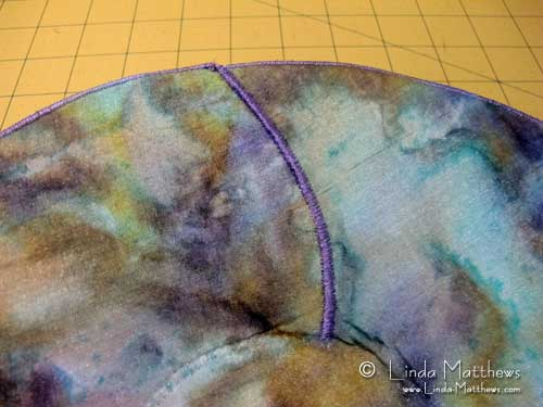 Creating and designing fabric bowls with Peltex Stabilizer