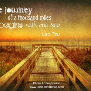 Not Quite Wordless Wednesday: Journey