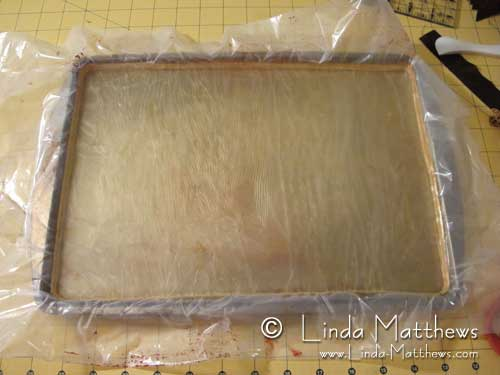 How to make a gelatine plate