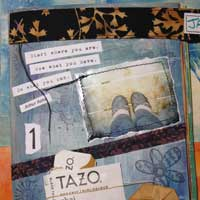 Art journaling for the time challenged