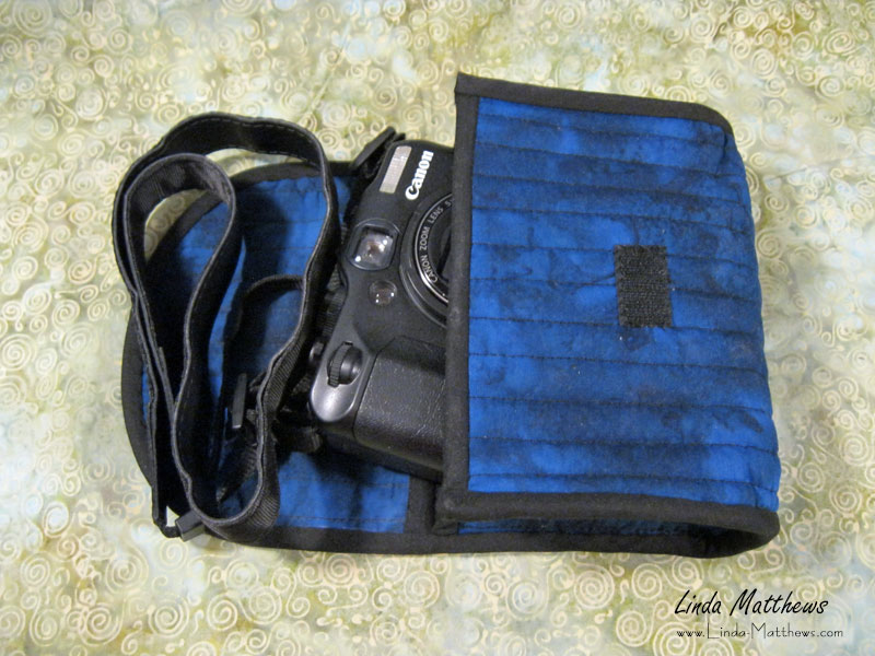 How to personalize your camera cozy with a photo printed on fabric