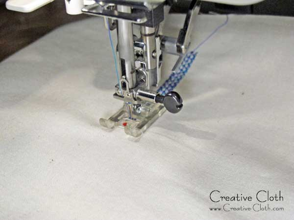 Tips for using decorative machine stitches