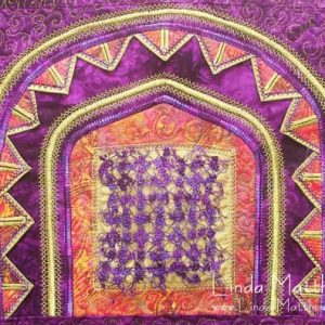 """Tutorial: Decorative Stitch """"Art Lace"""" using water soluble stabilizer"""