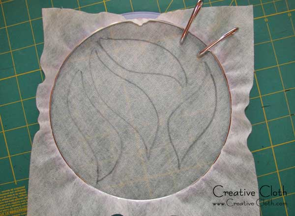Thread Art: Creative sewing using water soluble stabilizer