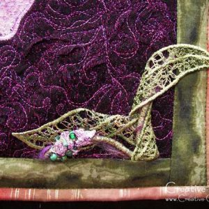 Free Tutorial: Machine Needle-lace shapes using water soluble stabilizer