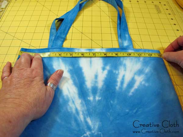 Free Sewing Tutorial: How to Add a Drop-in Lining to a Simple Tote Bag