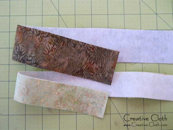 Free Sewing Tutorial - How to make a Lined Purse Strap