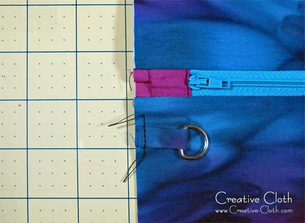 How to Add a Detachable Wristlet Strap to a Zipper Pouch