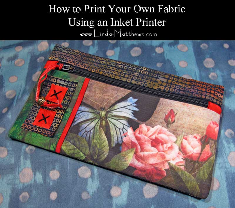How to print your own fabric using an inkjet printer
