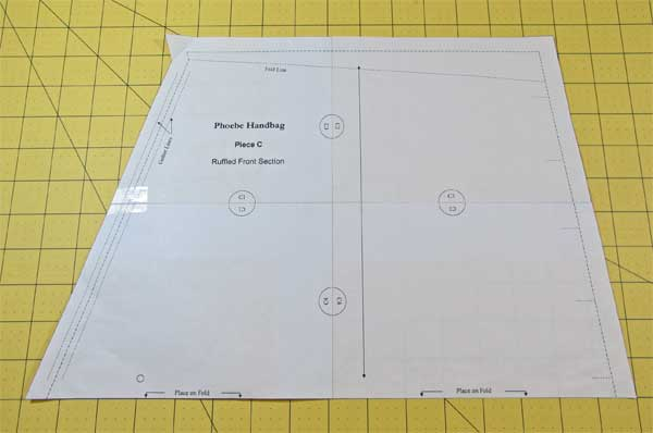 The Phoebe Handbag SewAlong: How to Print and Assemble a PDF Sewing Pattern