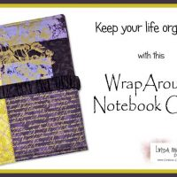 New in the Store: WrapAround Notebook Cover Sewing Pattern