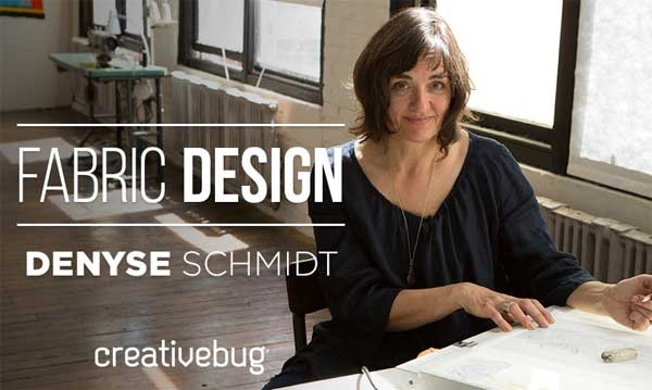 Learn Fabric Design with this CreativeBug Online Class