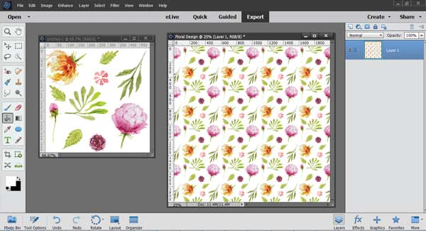 How To Make Complex Repeating Patterns Using Photoshop Elements Awesome How To Make A Seamless Pattern In Photoshop