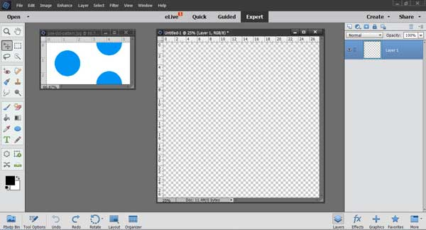 How to Make a Half Drop Repeat Pattern using Photoshop Elements