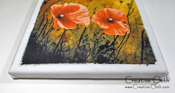 Ways to use your Digital Photo Art: Make a Wrapped Canvas