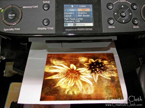 A Quick Start Guide to Printing on Fabric using an Inkjet Printer