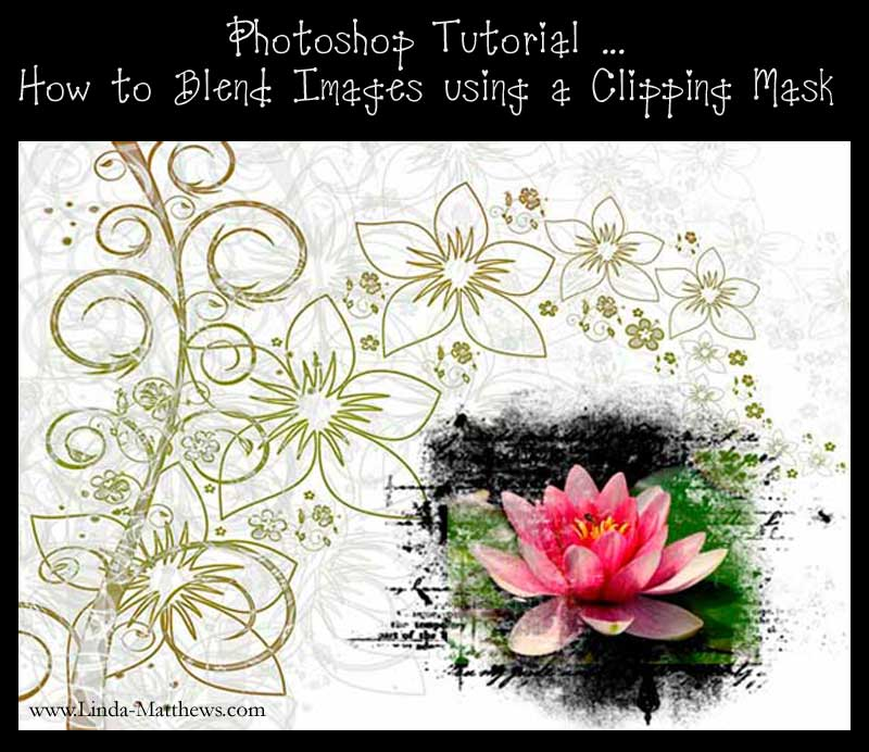 Photoshop Elements: Blending Multiple Photos using Clipping Masks