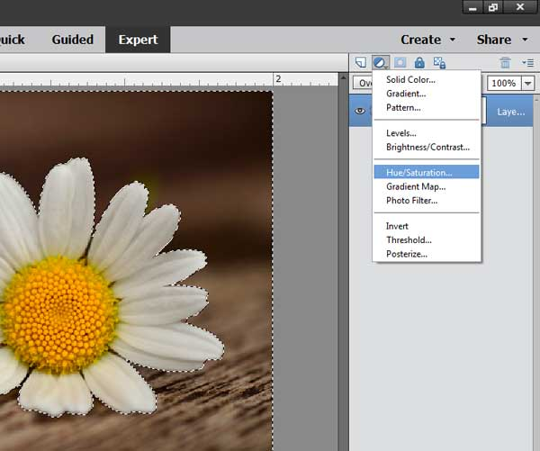 Exploring Photoshop: How to change a background color