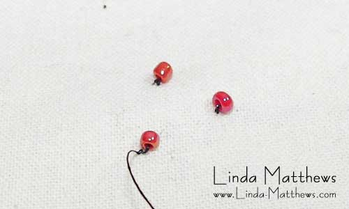 How to Sew Beads onto Fabric