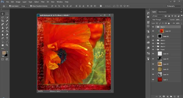 Photoshop for Art Quilting