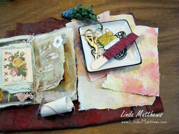 Stitched Journal of Summer Memories