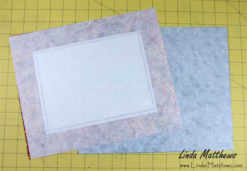 How to make a fabric tray
