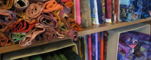 Cleaning out my fabric stash and making space for something new