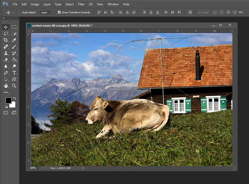 How to use Content Aware Fill in Photoshop Elements 14